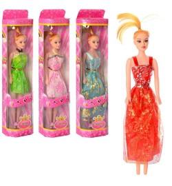 Кукла 910-63-65 (192шт) 26см, 2 вида, в кор-ке, 8,5-34,5-4,5см