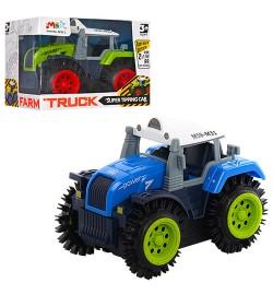 Трактор M31-1 (192шт) 10,5см, перевертыш, 2цвета, в кор-ке, 11-8-8см