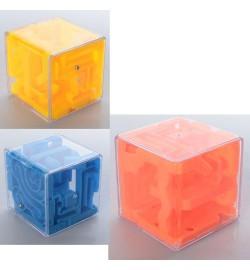 Лабиринт 2018-40 (180шт) куб, 3цвета, в кульке, 6-6-6см
