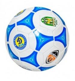 Мяч футбольный EV-3164 (50шт) 2 вида (клубы), 3 цвета,