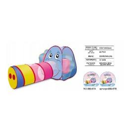 RUS Палатка 889-87B слон с хоботом-туннелем в сумке 166*13*83 /12/