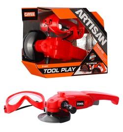 Набор инструментов KY1068-112B (48шт) циркулярная пила(механич) , очки, в кор-ке, 28-20-7,5см