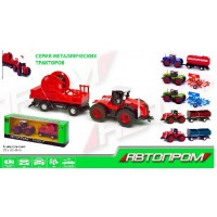 Трактор металл 7786-2 (72шт/2)