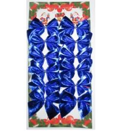 Набор бантиків сині (12 шт./уп) цена за уп.6-62 (6529)