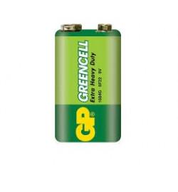 Бат. GP  Greencell 6F22, крона, 9V, трей 10/500 цена за 1 шт.