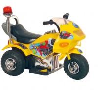 Эл-мобиль T-721 YELLOW мотоцикл 6V4.5AH мотор 1*25W 72*36*50 ш.к. /1/