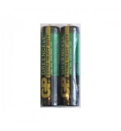 Батарейка GP 24G-S2 Greencell R03, ААA, трей  2/40/ цена за 2 шт.