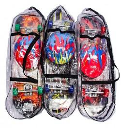 Скейт BT-YSB-0055 набор PVC колеса подвеска 1,1см 71*20см 3цв.ш.к./6/
