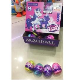Герои пони яйцо 2167-6622A (24уп по 32шт/2) в яйцах, 32 шт в диспл боксе, цена за блок