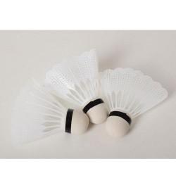 Воланчик MS 1957 (480шт) 3шт, 8см, белый пластик, в кульке, 12-9-3см