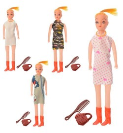 Кукла ZMТ01 (900шт) 20см, аксессуары, 4вида, в кульке, 5-20-1,5см