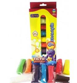Набір тіста для ліплення ТМ LOVIN'DO Асорті 9 кольорів тесто
