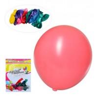 Шарики надувные MK 2319-2 (500шт) 10 дюймов, микс цветов, 10шт в кульке,