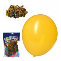 Шарики надувные MK 0014-2 (100шт) 12 дюймов, 2 цвета, 50шт в кульке,