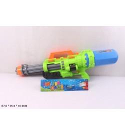 Водный пистолет 2823-32 (24шт/2) с насосом, в пакете 67*25*10см