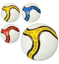 Мяч футбольный EV 3239 (30шт) размер 5, ПВХ 1,8мм, 300-320г, 4 вида(страны), в кульке