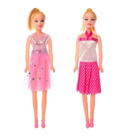 Кукла M11-1 (480шт) 26см, 2вида, в кульке, 6-26-3см