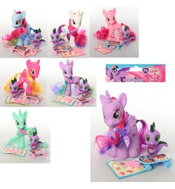 Лошадка-пони KD-241-3-4-5-7-8-9-50-1-2 (120шт) LP,15см,,скейт,расчес,накл,микс вид,в кул,16-21-8с