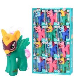 Лошадка-пони  YD01222-4 (108шт) LP, единорог, 14см, в кор-ке, 12шт(микс видов) в дисплее, 36-59-6см