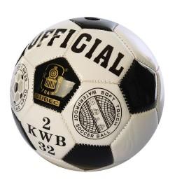 Мяч футбольный MS 1718 (100шт) Official, размер 2, мини, ПВХ, 2,7мм, 170г, в кульке