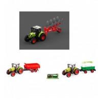 Трактор WY900ABC (18шт) с прицепом, инер-й, 1:16, 38см, зв,св, 3вида,на бат-ке,в кор-ке, 42-19-12см