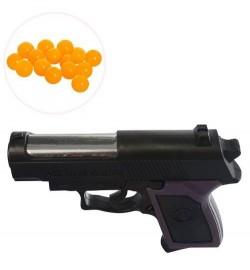Пистолет MX809 (600шт) на пульках, 12см, в кульке, 12-9-2,5см