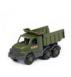 Максик автомобиль-самосвал военный (РБ) машинка 203х83х96 мм