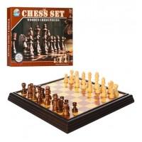 Шахматы 477D-1 (60шт) поле(пластик) 23,5-23,5см, фигуры-пластик, в кор-ке, 35,5-28,5-3,5см