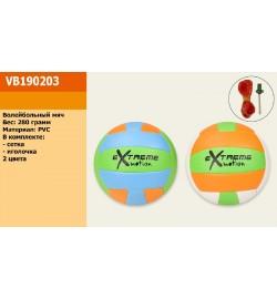 Мяч волейбол VB190203 (30шт) 280 грамм, PVC, 4 цвета