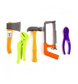 Набор строительных инструменты  (5 предм) (25шт/уп)