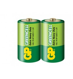 Батарейка GP 14G-S2 Greencell R14, C, трей 24/480