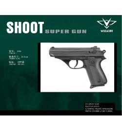 Пистолет VIGOR 036 с пульками в пакете 14,5см /384/