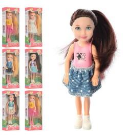 Кукла KQ069 (140шт) 12см, 6видов, в кор-ке. 6,5-17,5-4см