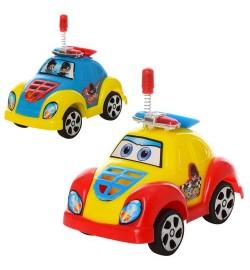 Машинка 2210 (432шт) инер-я, полиция, 10см, 2цв, в кульке, 10-6,5-5,5см