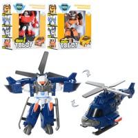 Трансформер 339 (72шт) ТВТ, робот 12см, 3вида (2в-машинка, 1в-вертолет), в кор-ке, 15,5-16-7см