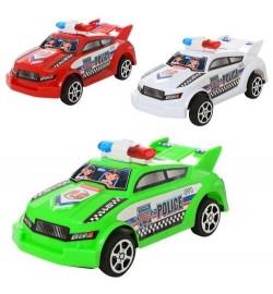 Машинка 66911 (576шт) инер-я, полиция, 3 цвета, в кульке, 14-6-6,5см