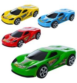 Машинка 399-95 (480шт) инер-я, 12см, 4цвета, в кульке, 12-5-3см