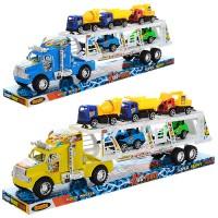 Трейлер 6897-2-4 (18шт) инер-й, 53см, транспорт 4шт, от9,5см, 2вида, в слюде,55-10-19см