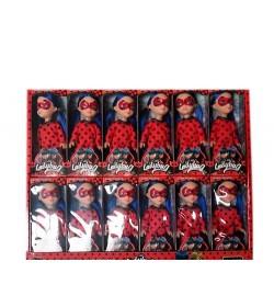 Кукла 2015 (216шт) LDC, 15,5см, 12шт в дисплее, 41-33,5-5см леди баг