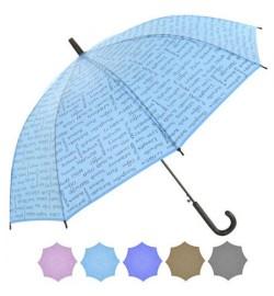 Зонт-трость полуавтомат r53.5см 8сп T05715 (60шт)