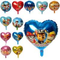 Шарики надувные фольгированные MK 2732 (300шт)  ЩП, шар/сердце, 41см,12 видов