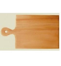 Дерев'яна обробна дошка  Прямокутна з вушком 21*36 доска деревянная