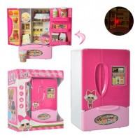 Холодильник 320G26 (42шт) LOL,15см, муз, свет, продукты, на бат-ке, в кор-ке,17-20-9,5см