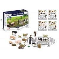 Ферма Q9899-ZJ67 с животными 4в.кор.27*7*18 /48/