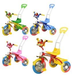 Велосипед B 2-2 / 6011 (4шт) три колеса длинная ручка
