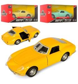 Машинка AS-2032 (72шт) АвтоСвіт,металл,1:36,инер-я,12,5см,открыв.двери, 3цв,в кор-ке,14,5-7,5-6,5см