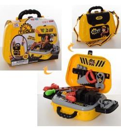 Набор инструментов 008-932A (24шт) отвертки,пила,в чемодане-сумке на ремне,в карт.оберт,24,5-19-9см