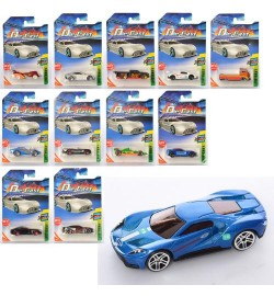 Машина 268-02 (240шт) металл, 7см, микс видов, на листе, 11-16,5-3,5см