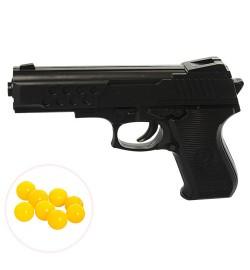 Пистолет HC-666 (240шт) на пульках,16,5см, пульки, в кульке, 16,5-12-2,5см