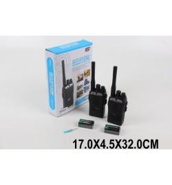 Рация батар. JQ220-6C2 (1585224) (96шт/2) в коробке 17*4,5*32см